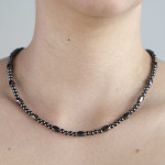 Twist Tiger Eye Necklace or Choker