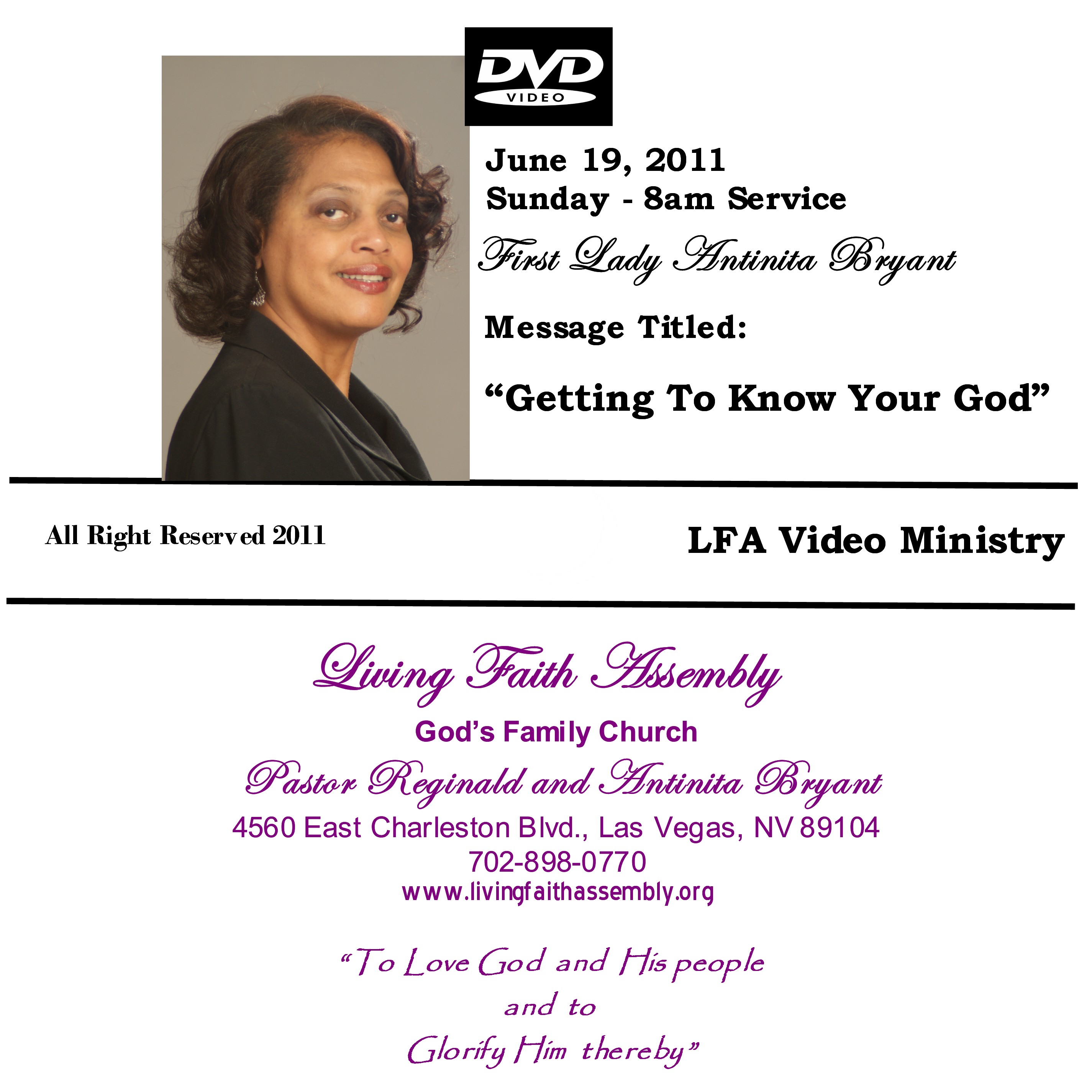 Get To Know God - DVD