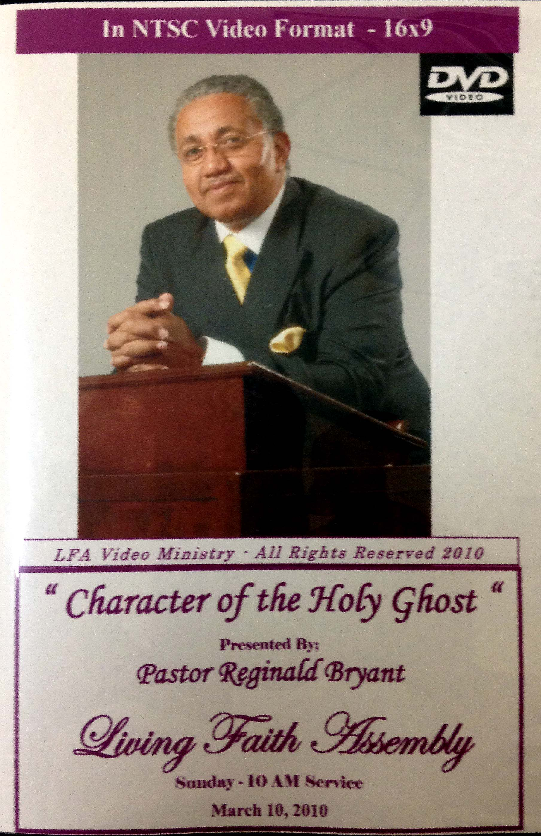 Character of the Holy Ghost - DVD