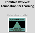 Primitive Reflexes: Foundation for Learning Webinar recording DVD