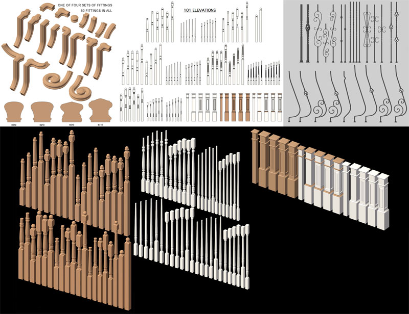 Stair Parts Bundle 1-2016