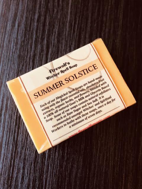SUMMER SOLSTICE MAGICK SOAP