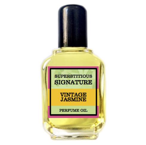 Vintage Jasmine Perfume Oil