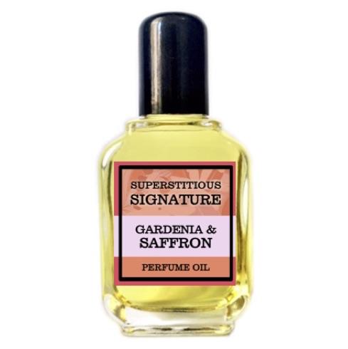 Gardenia & Saffron Perfume Oil