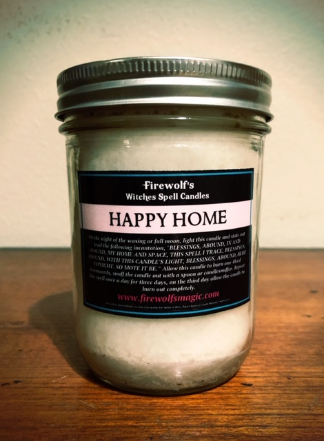 HAPPY HOME CANDLE