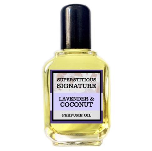 Lavender & Coconut Perfume Oil