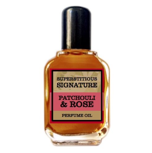 Patchouli & Rose Perfume Oil