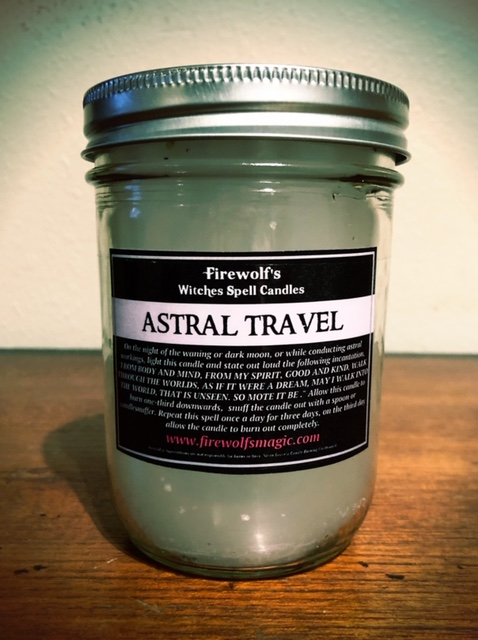 ASTRAL TRAVEL CANDLE