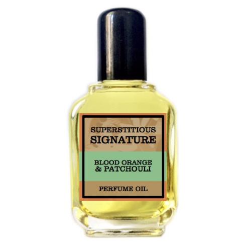 Blood Orange & Patchouli Perfume Oil