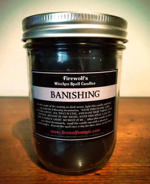 BANISHING CANDLE