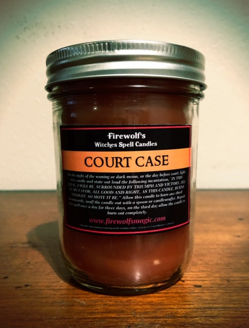 COURT CASE CANDLE