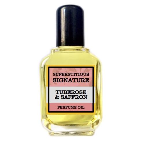 Tuberose & Saffron Perfume Oil