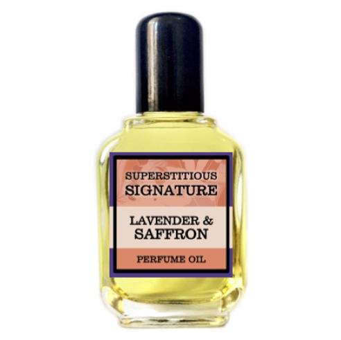 Lavender & Saffron Perfume Oil