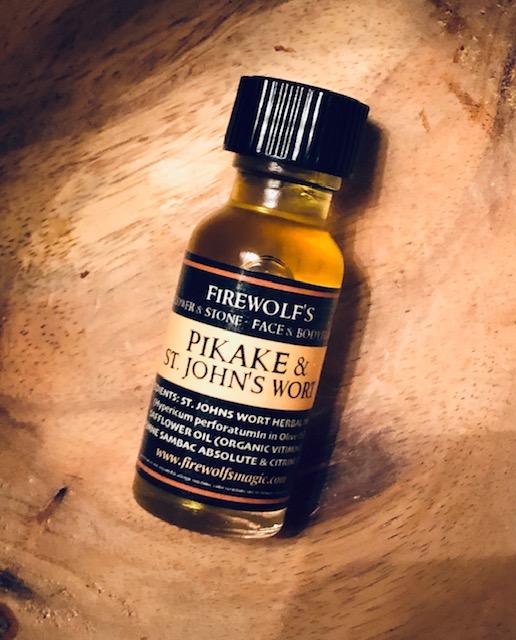 PIKAKE & ST. JOHN'S WORT - Face & Body Elixir - Citrine