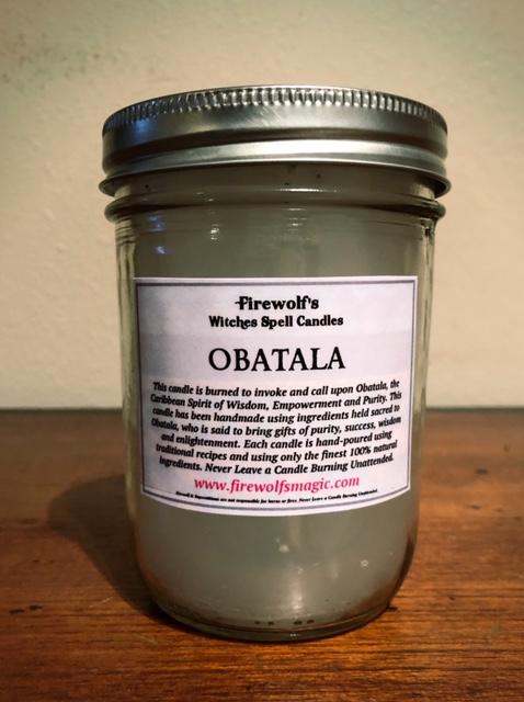 OBATALA CANDLE