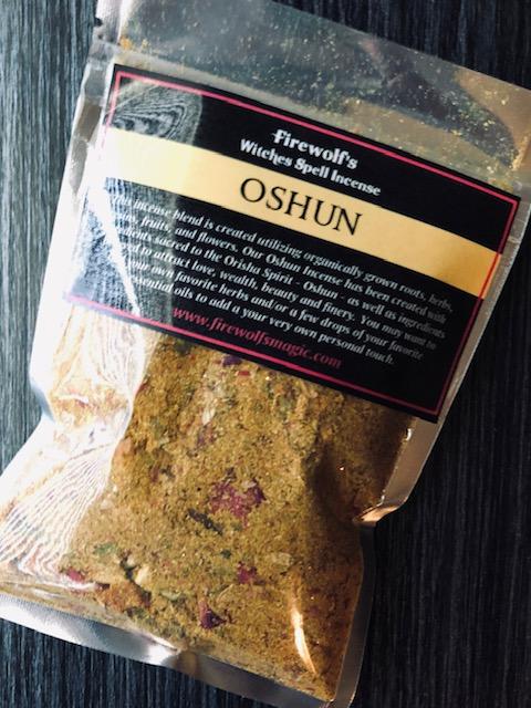 OSHUN INCENSE