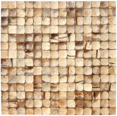 17X17 Inch Cocomosaic tiles - Natural Bliss (6 tiles=box)