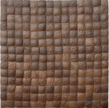 17X17 Inch Cocomosaic tiles - Espresso Grain (6 tiles=box)