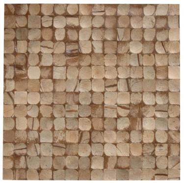 "17""X17"" Cocomosaic tiles - Grey Bliss (6 tiles=box)"