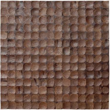 17X17 Inch Cocomosaic tiles - Espresso Bliss (6 tiles=box)