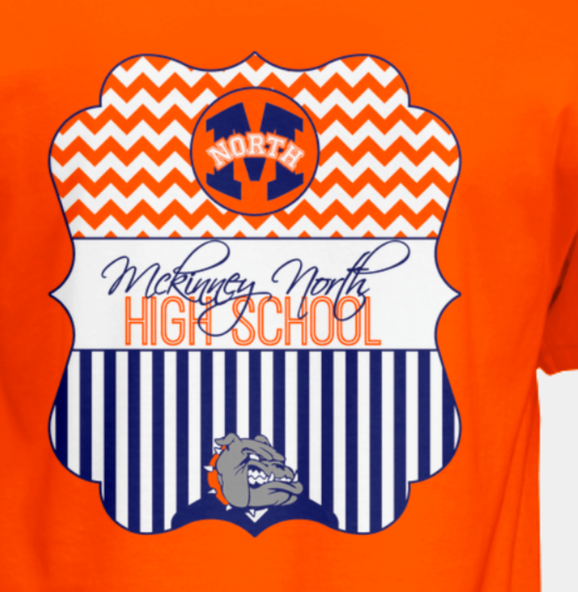 2017 Orange Chevron T