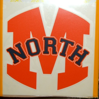 McKinney North Car Decal