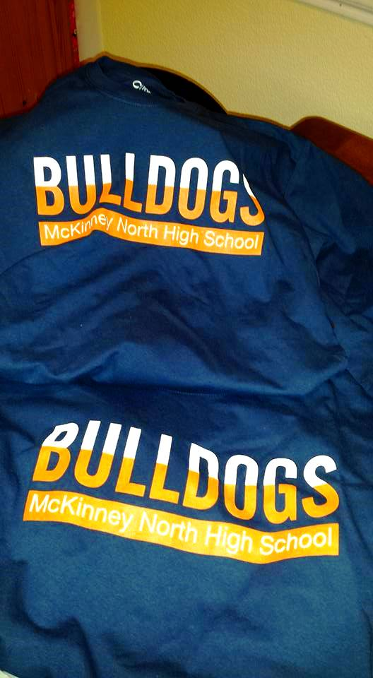 Bulldogs Long Sleeve Navy (NFL style)