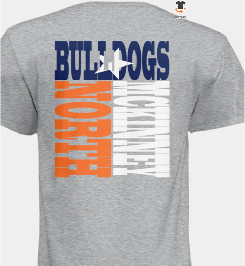 Gray Bulldog Block T