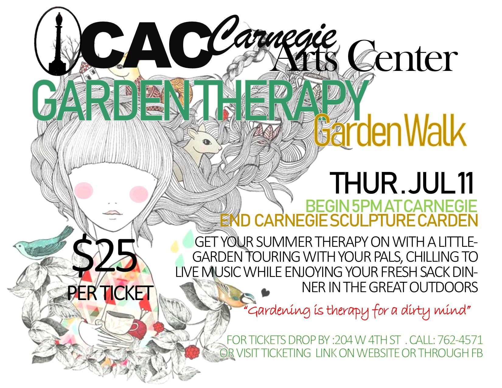 Garden Walk Ticket