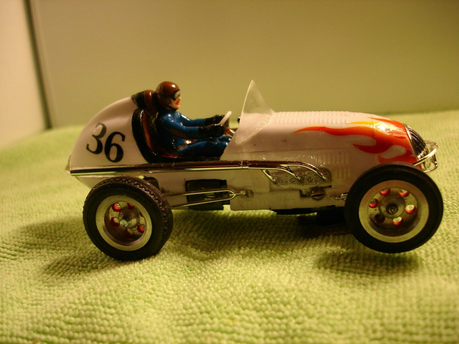 * SOLD to Charles E.* Vintage old Revell Midget Racer slot car 1/32