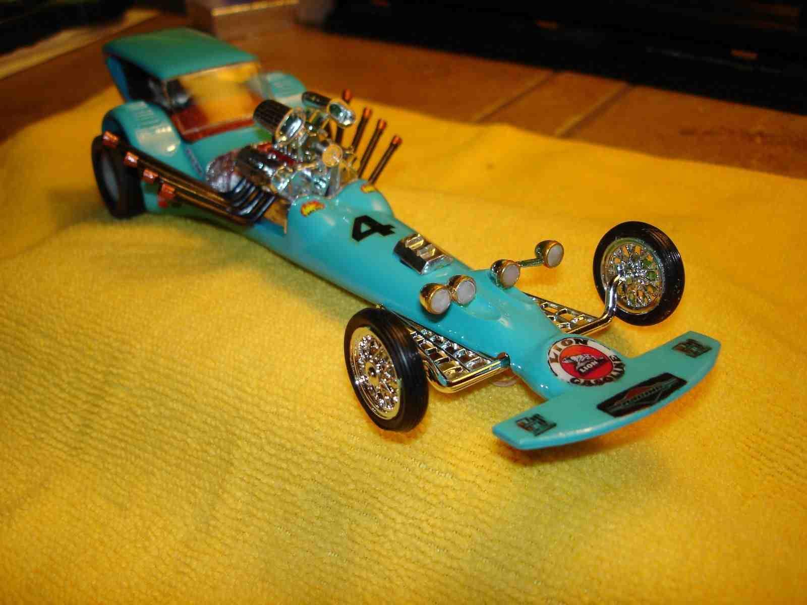 *** SOLD *** Revell Dragster 1968 RARE 1/32/1/24 Slot Car