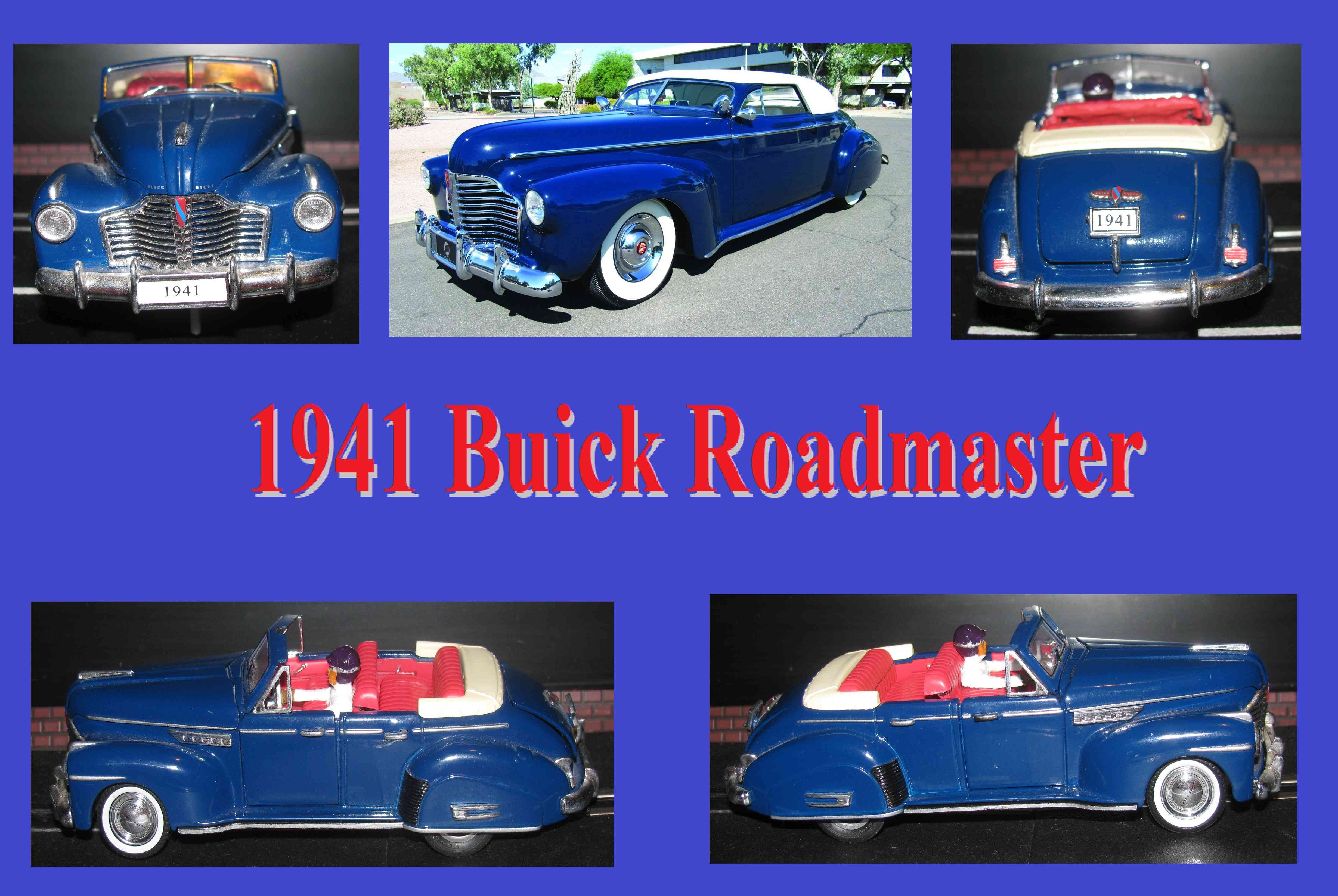 * Winter Super Sale * 1941 Buick Roadmaster Slot Car 1:32 Scale Heavy Hitter with loads of power