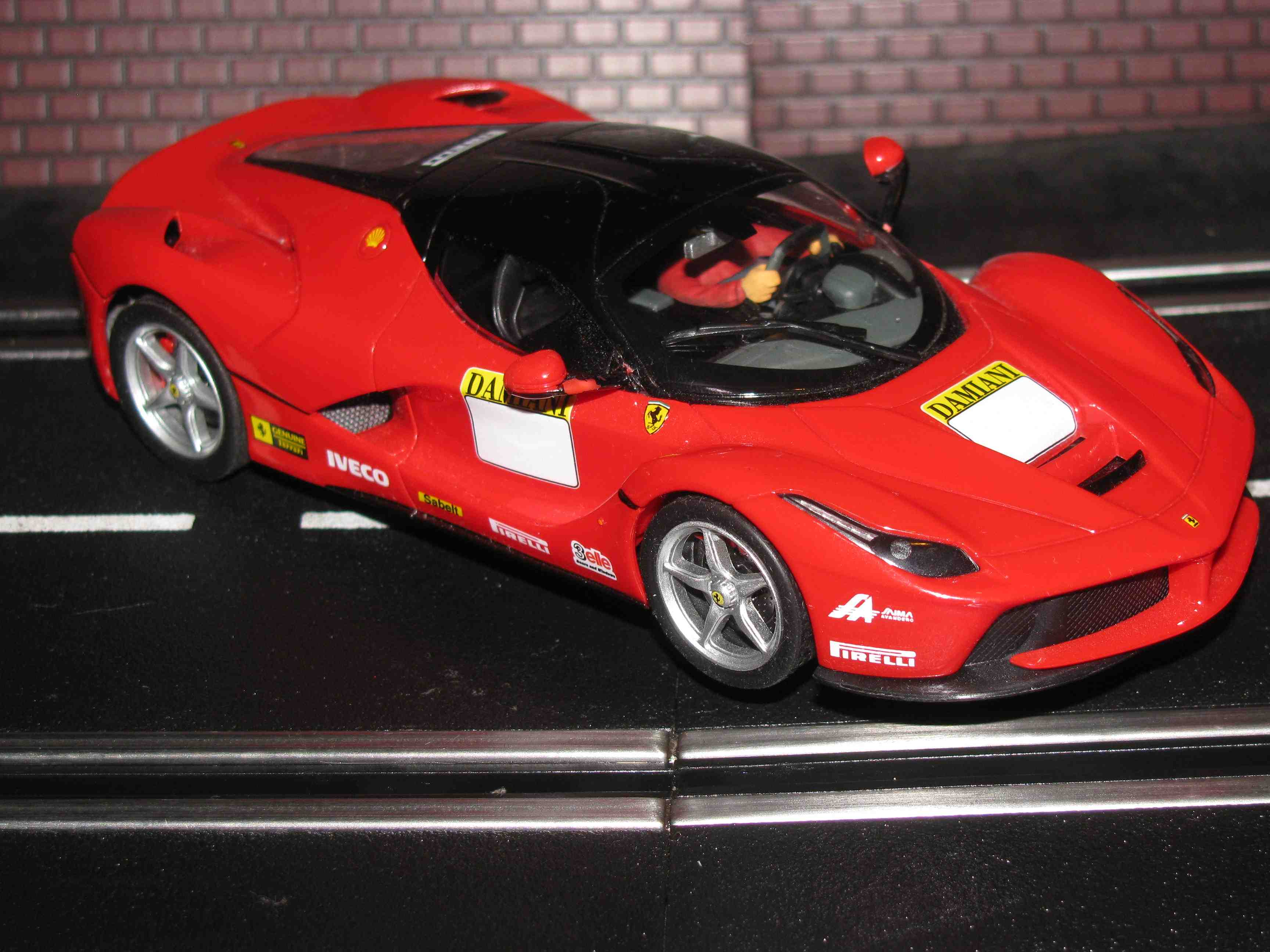 *SOLD* Carrera Ferrari LaFerrari GT Class Racer Slot Car 1/32 Scale