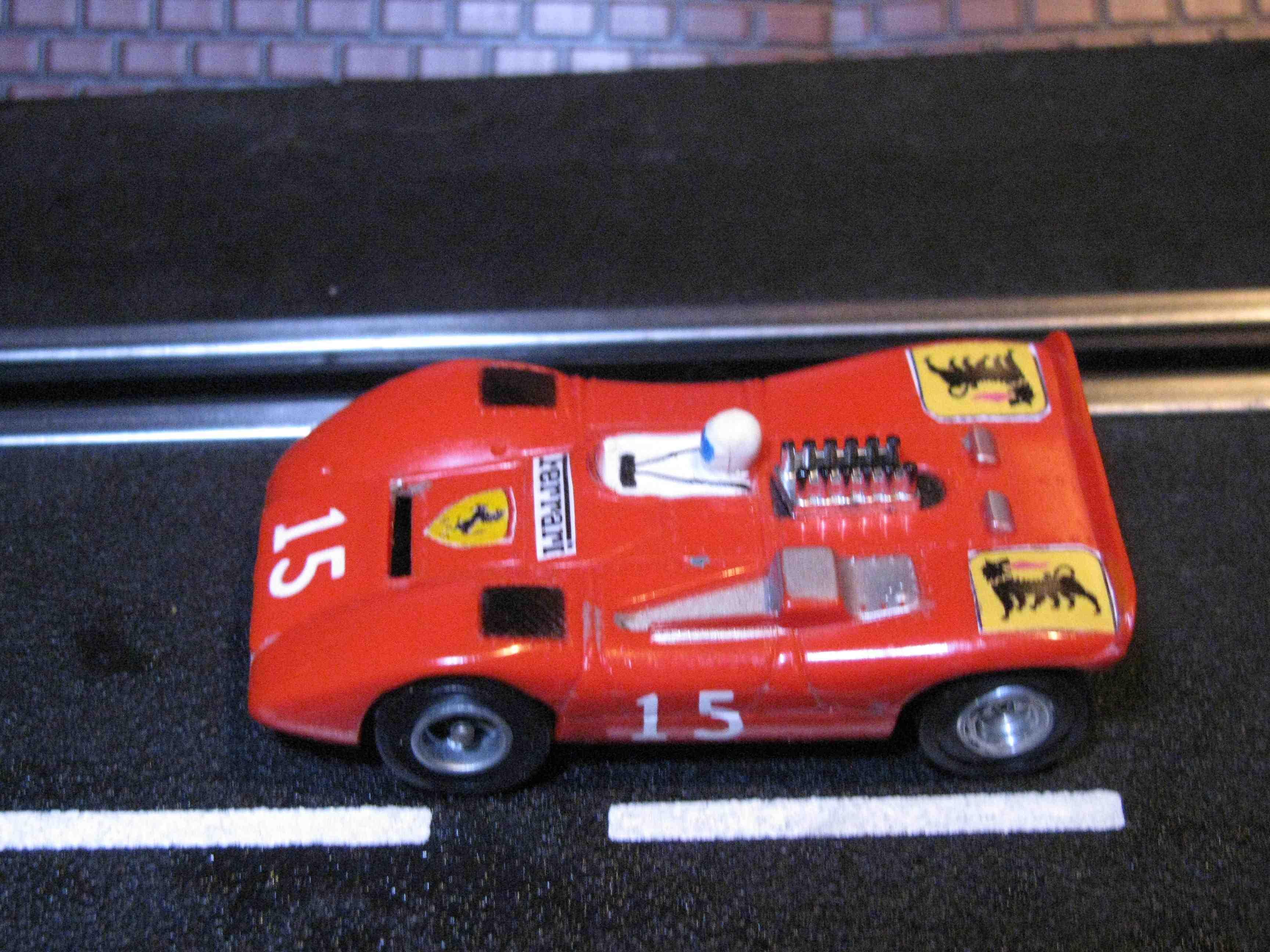 * SOLD * Aurora 1751-750 A/FX Ferrari 612 HO Slot Car - Red