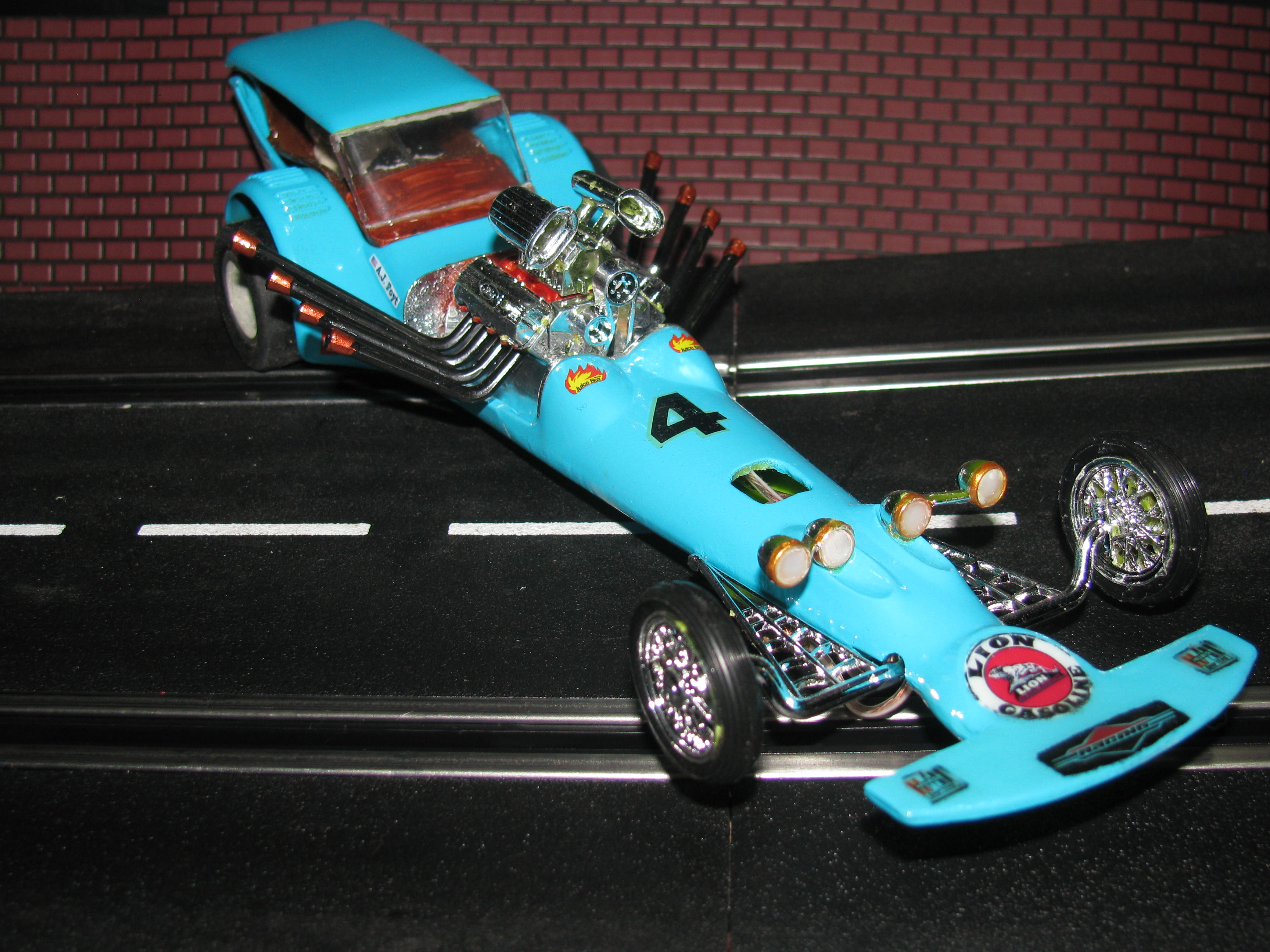 Custom 1/24 Scale Dragster