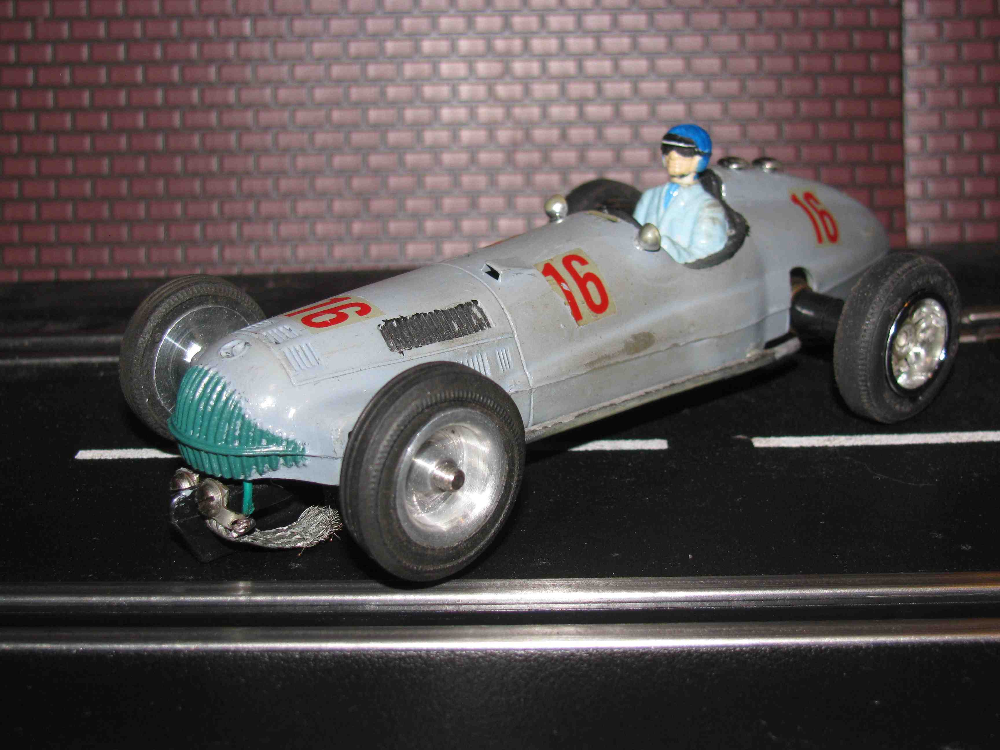 * SOLD * 1938 Mercedes-Benz W154 Slot Car 1/32 Scale Car #16