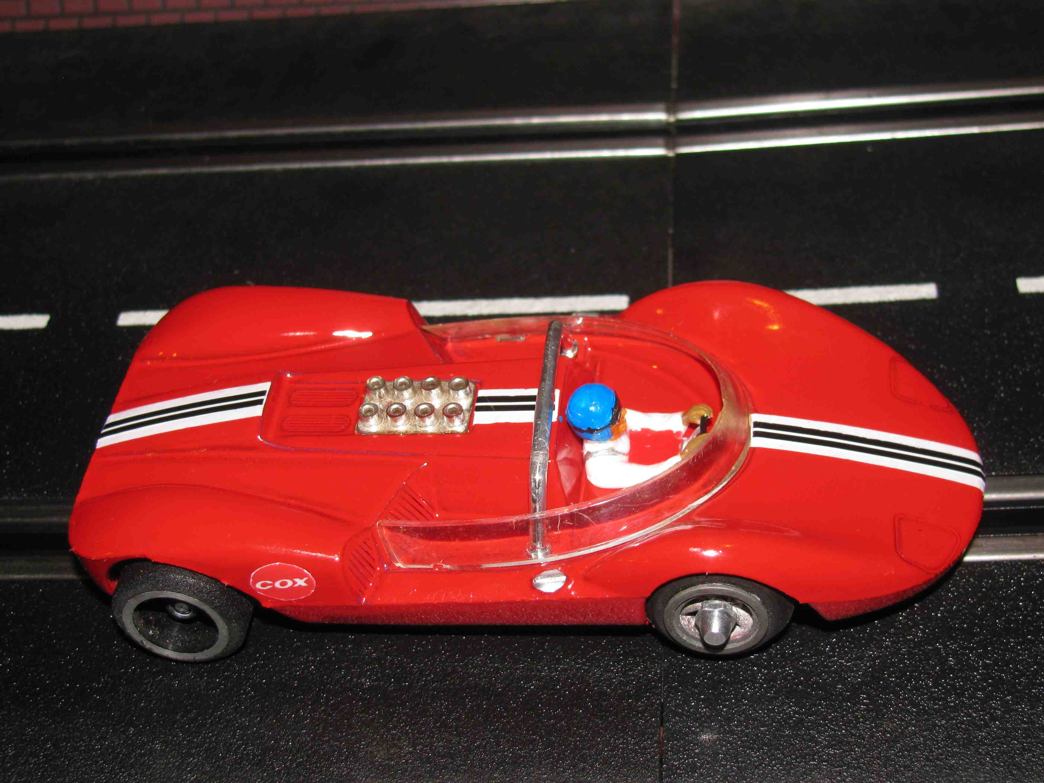 * SOLD * Lil Cucaracha Red Racer Slot Car 1/32 Scale