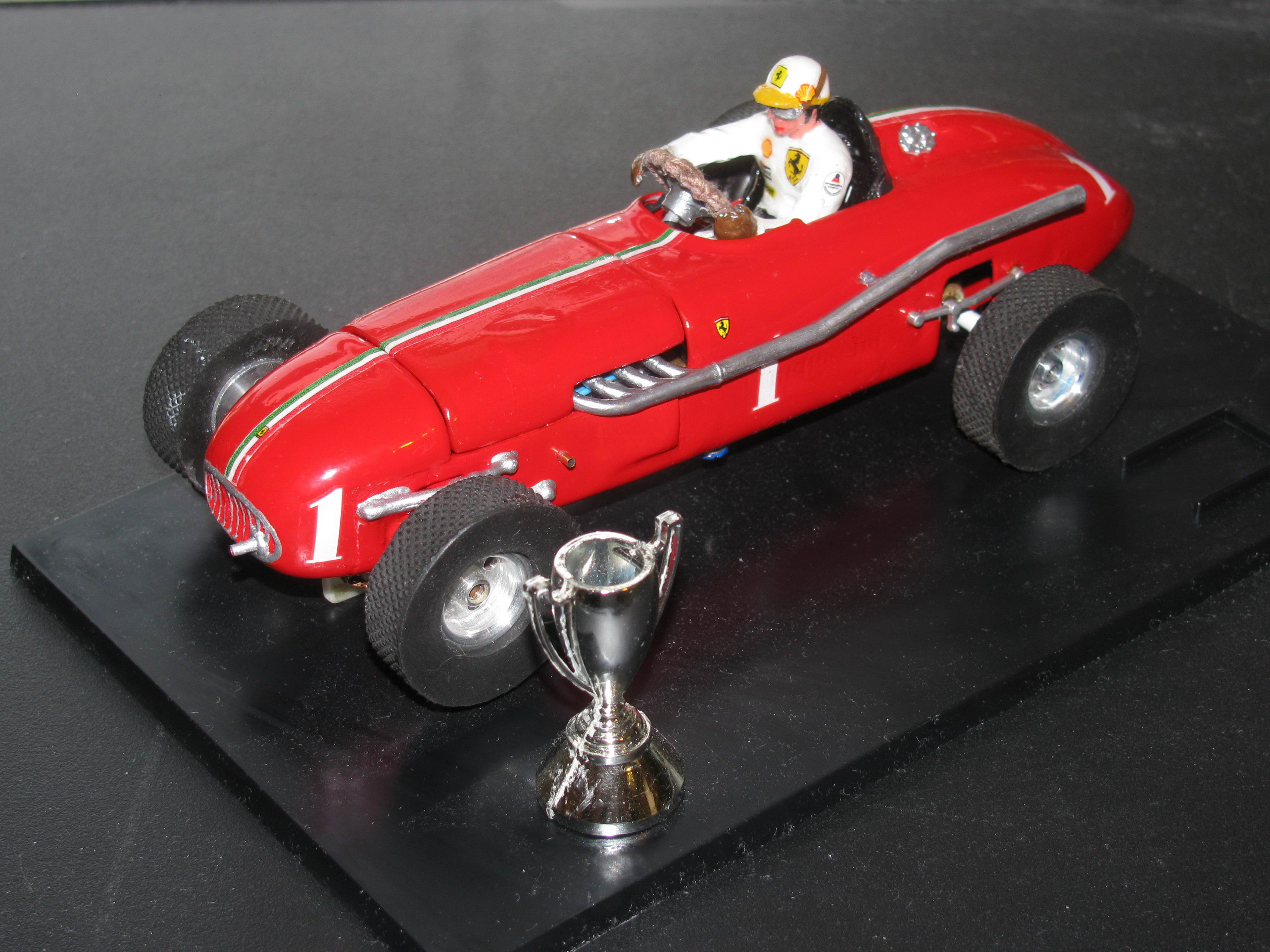 * SOLD * * SALE * 1956 Monogram Indy 500 Slot Car Racing Special – Car 1