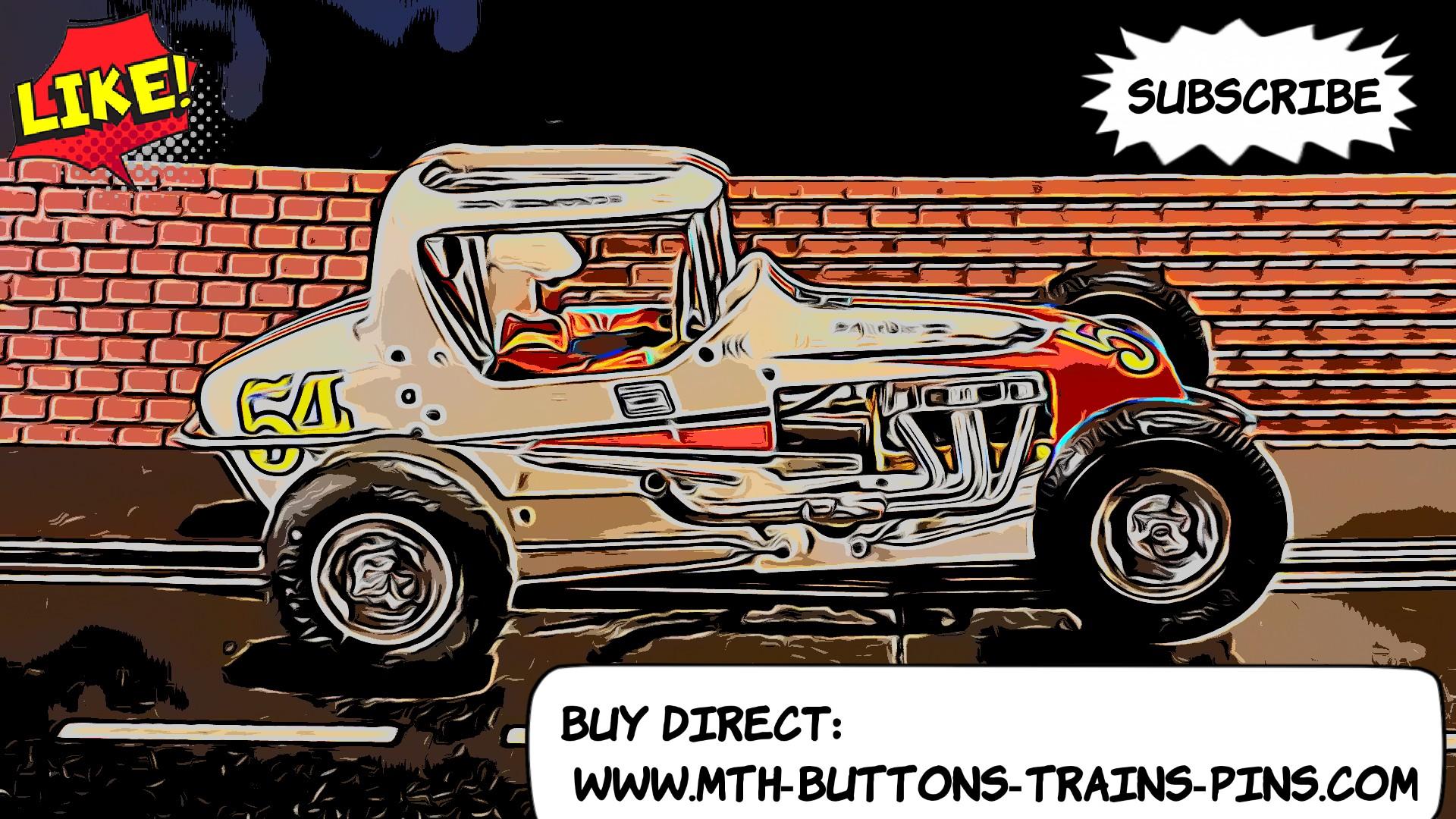 *SOLD* Monogram Midget Racer Dirt Racing Special Slot Car 1/24 Scale – Car #54