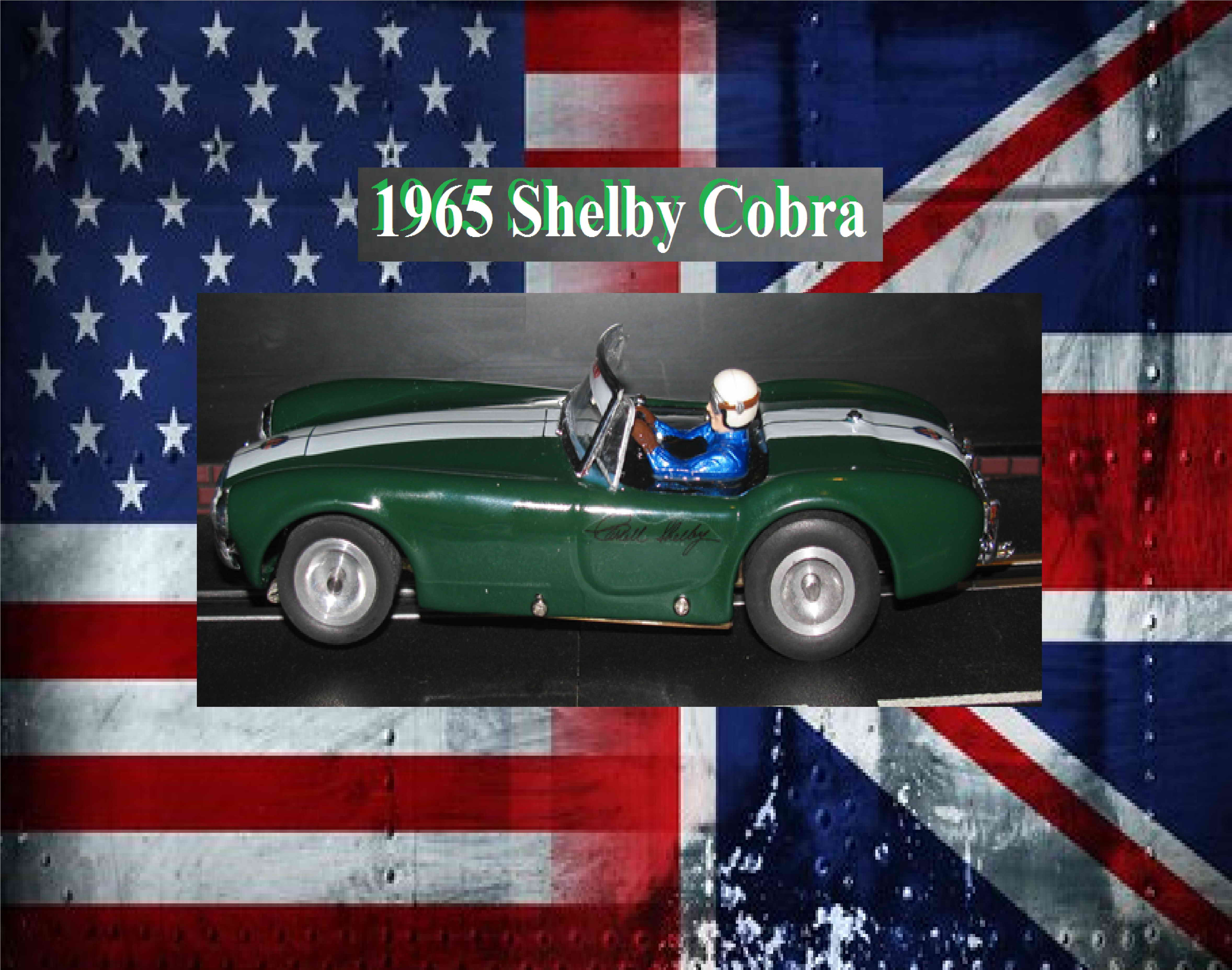 * SOLD * 1965 Shelby Cobra Coupe Special in British Racing Green with Dual Racing Stripes