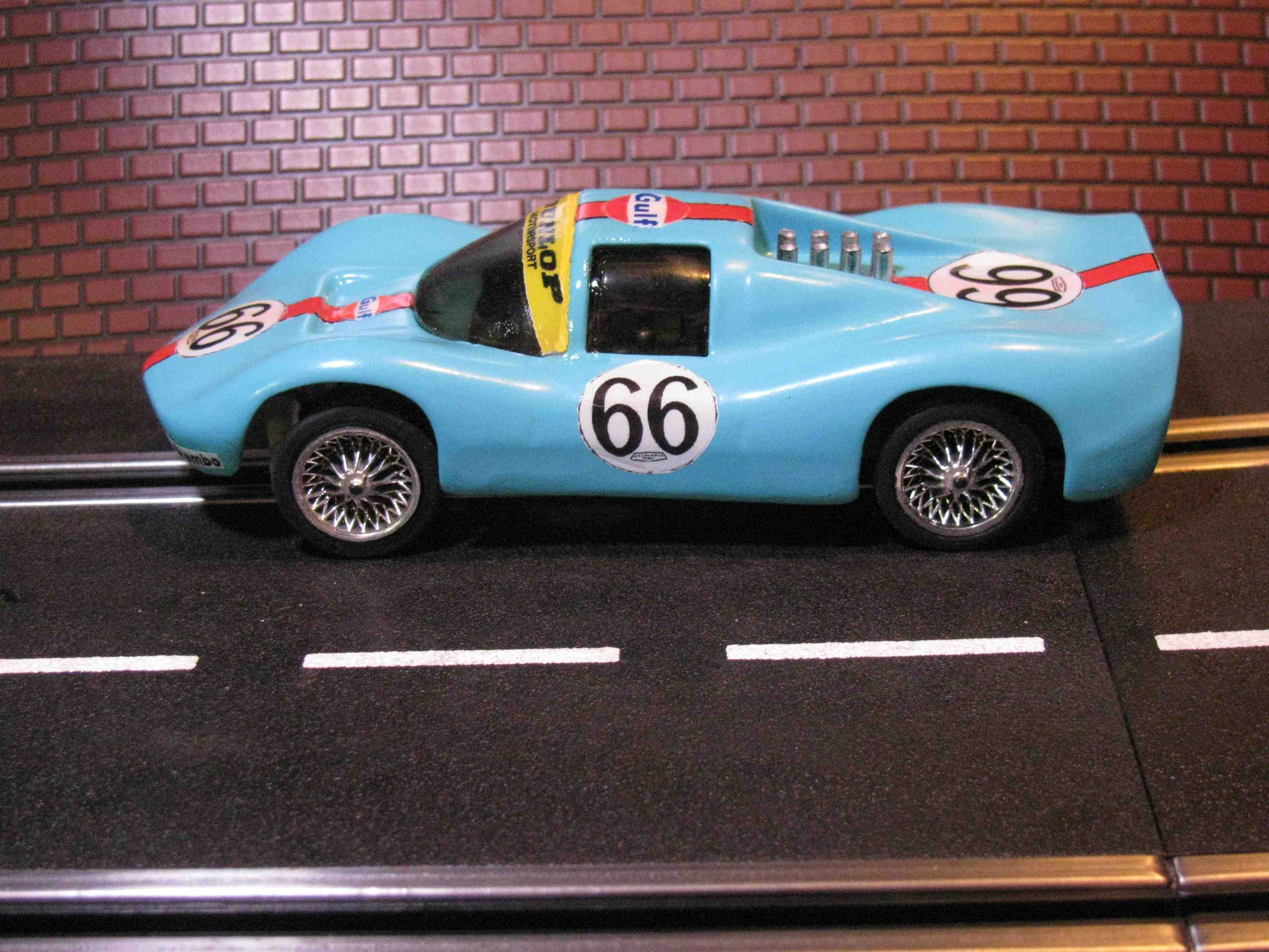 * SOLD * Vintage 1967 Eldon Chaparral Slot Car - 1/32 Scale