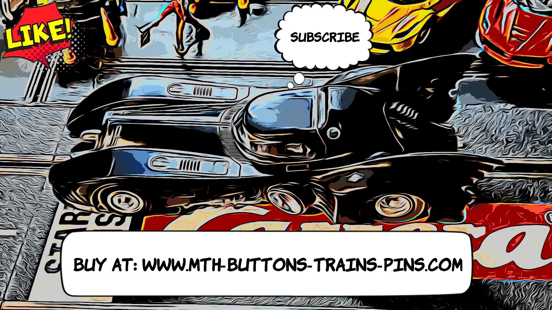 Batman Batmobile Slot Car Rare Limited Edition Movie Series 1:24 Scale