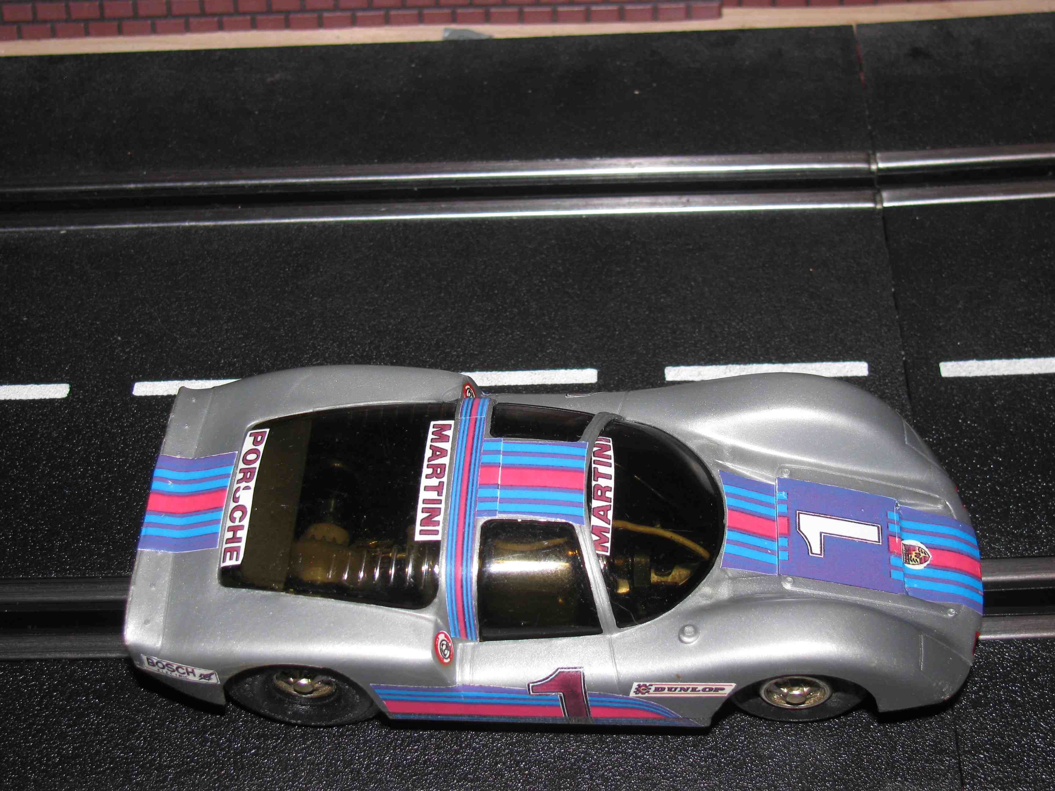 * SOLD * Eldon 1960's Porsche 906 Slot Car 1/32 Scale – Car 1