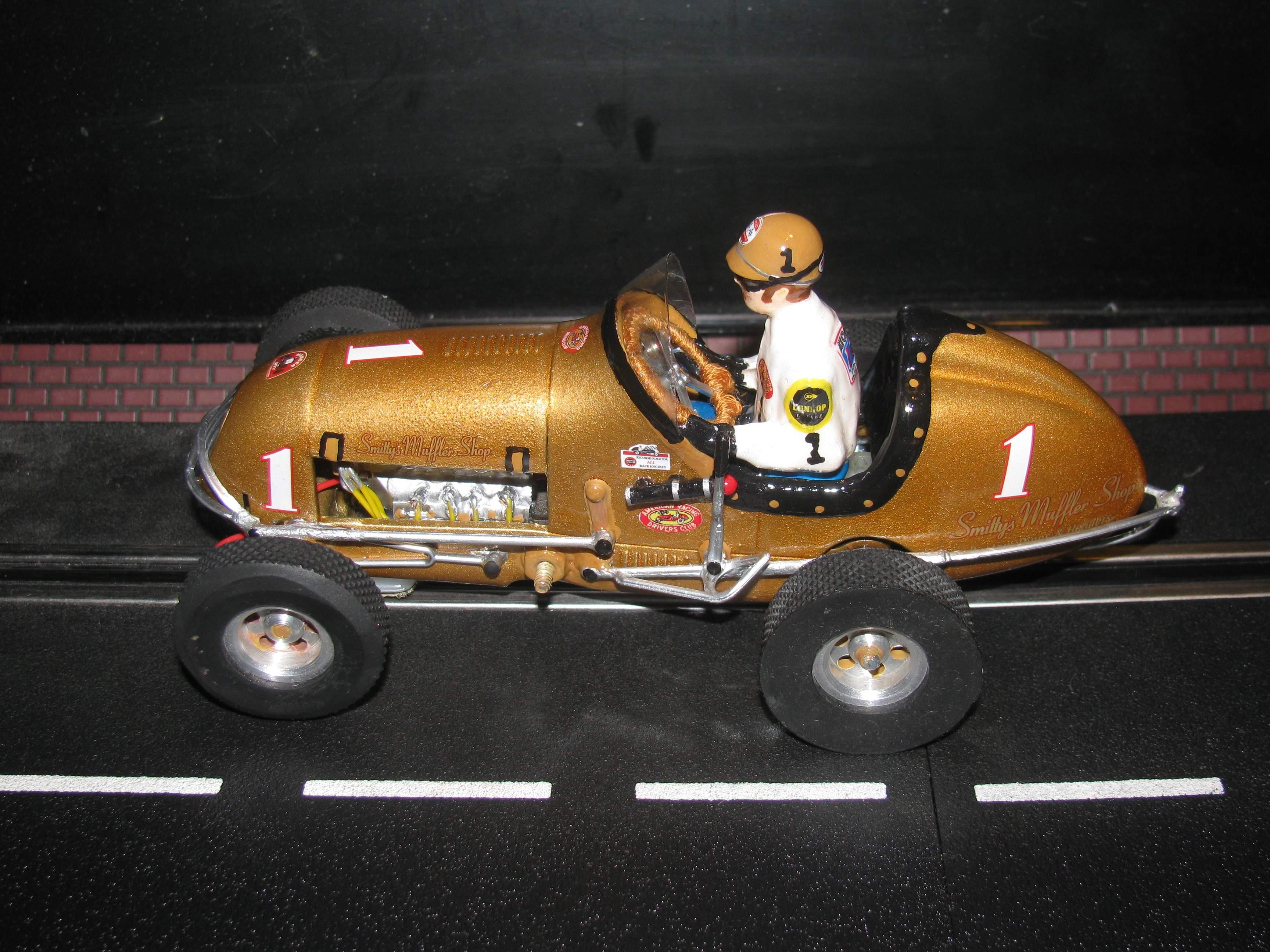 * SOLD * * SALE ENDS SUNDAY * Monogram Midget Racer Golden Ticket Racing Special Car 1 1:24 Scale Slot Car