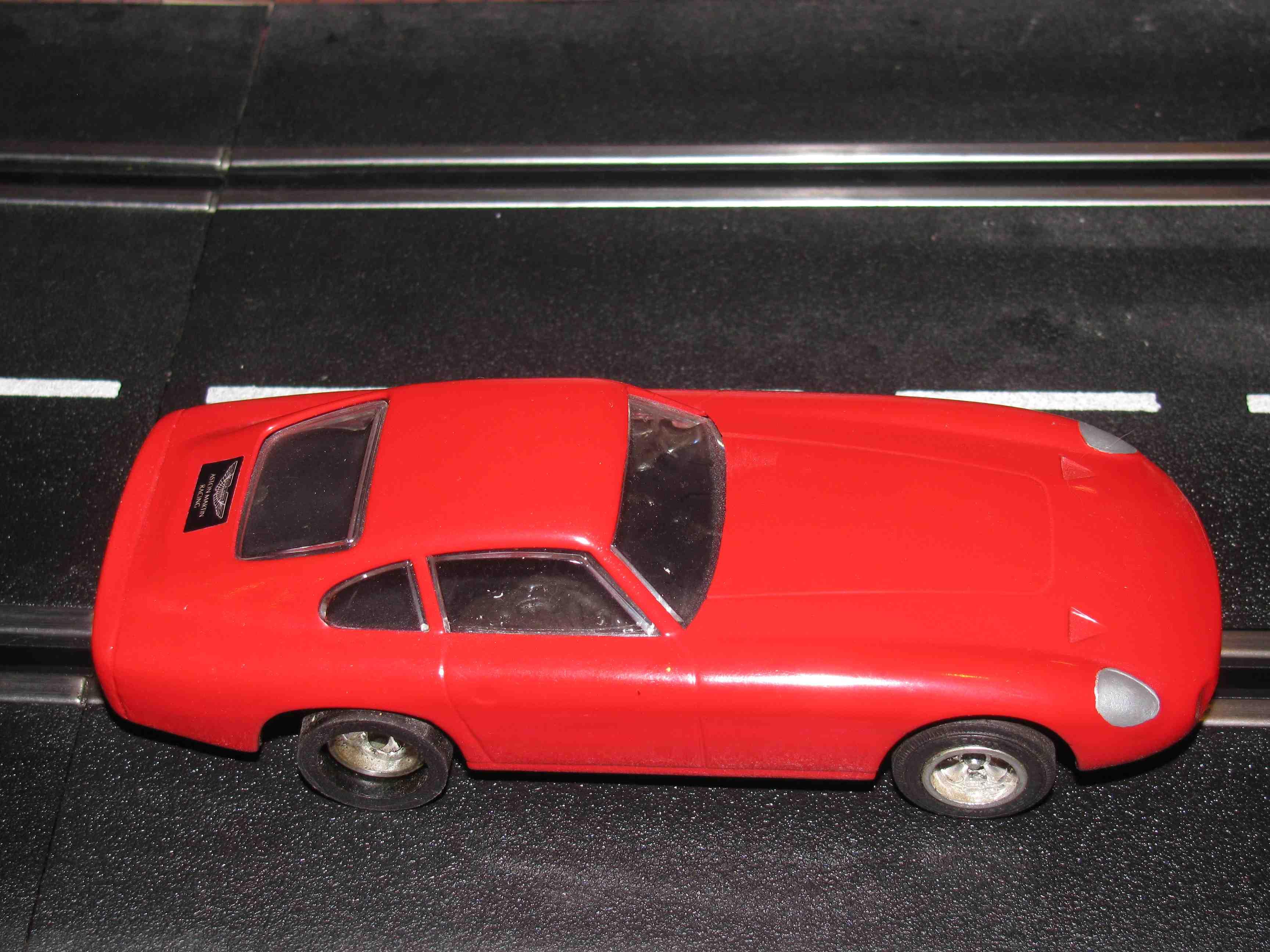* SOLD * Strombecker Aston Martin Zagato Slot Car 1/32 Scale