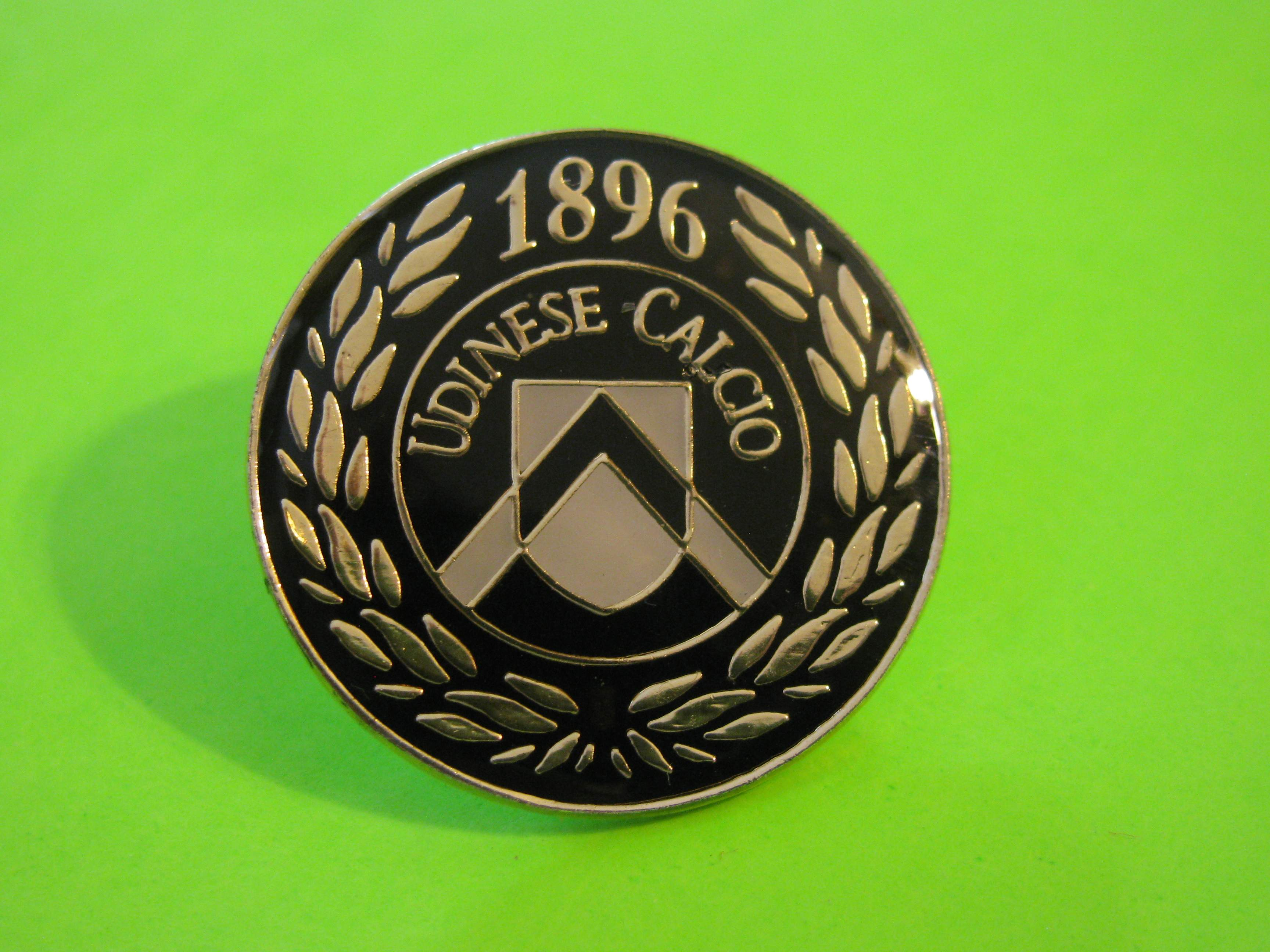 UDINESE CALCIO 1896 Vintage Metal Pin with Butterfly Clutch