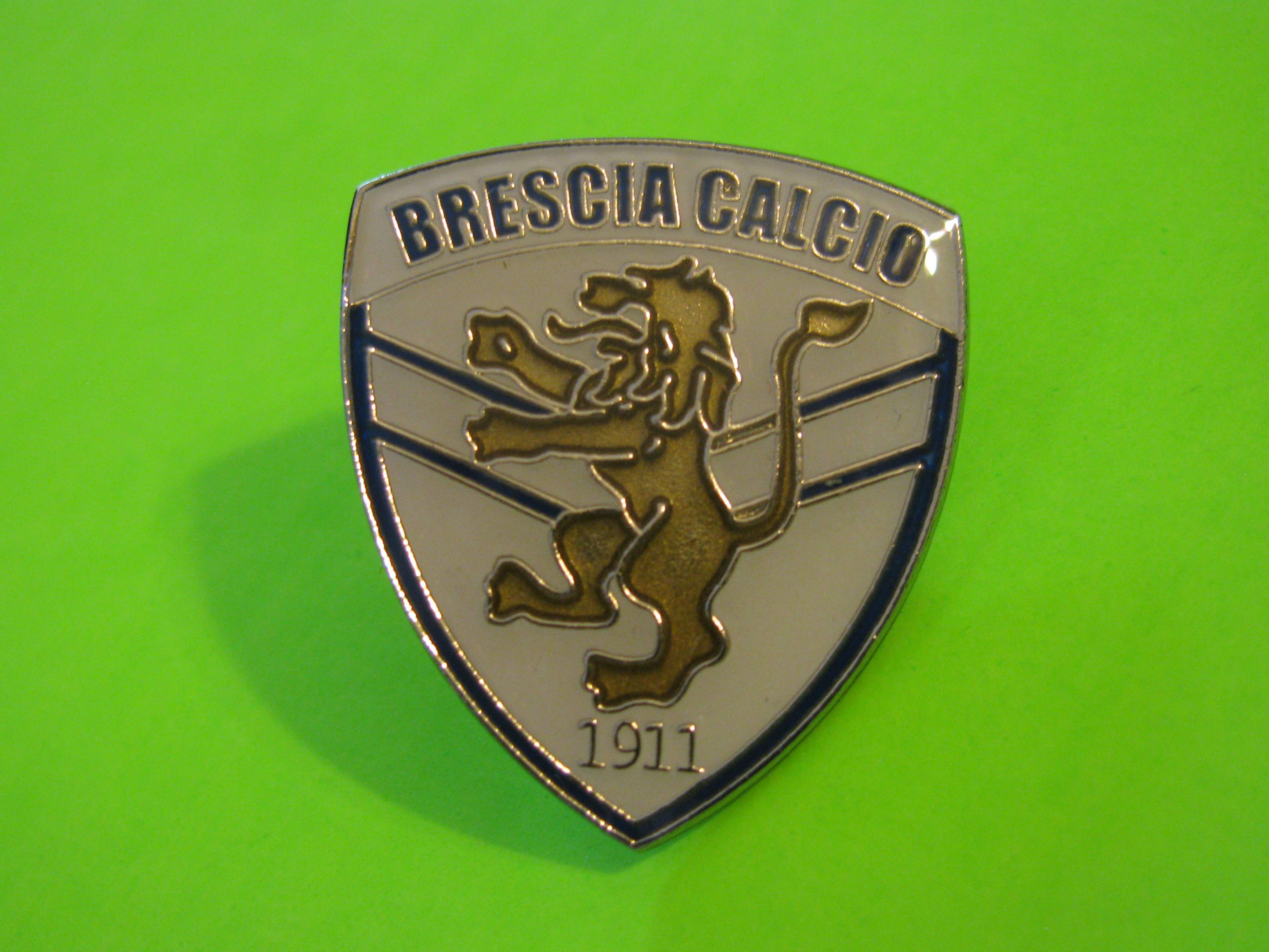 *SOLD* BRESCIA CALCIO 1911 Vintage Metal Pin with Butterfly Clutch