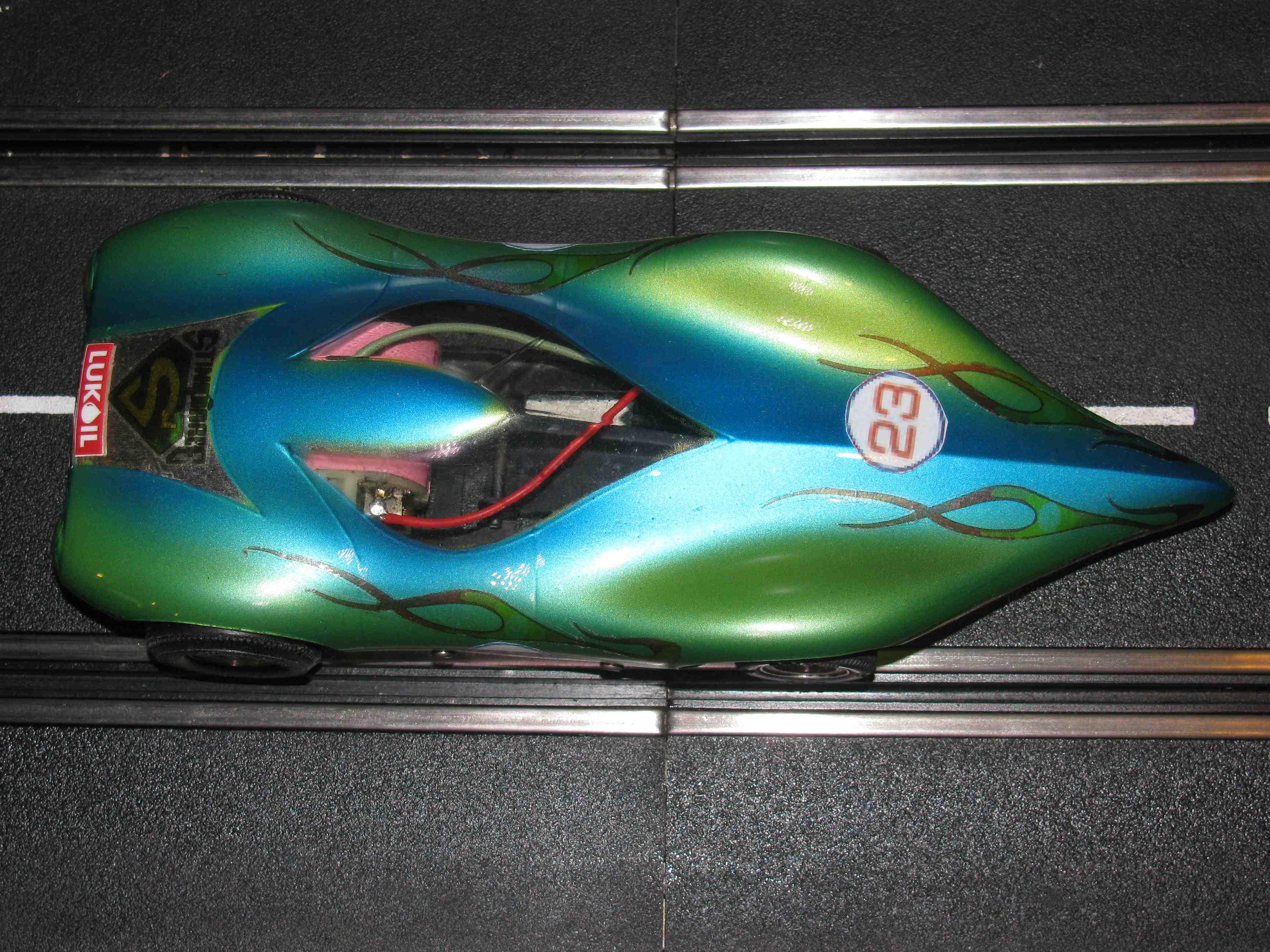 * SORRY SOLD * Gar-Vic Green Arrow II NHRA Slot Car 1/24 Scale – Vintage Green