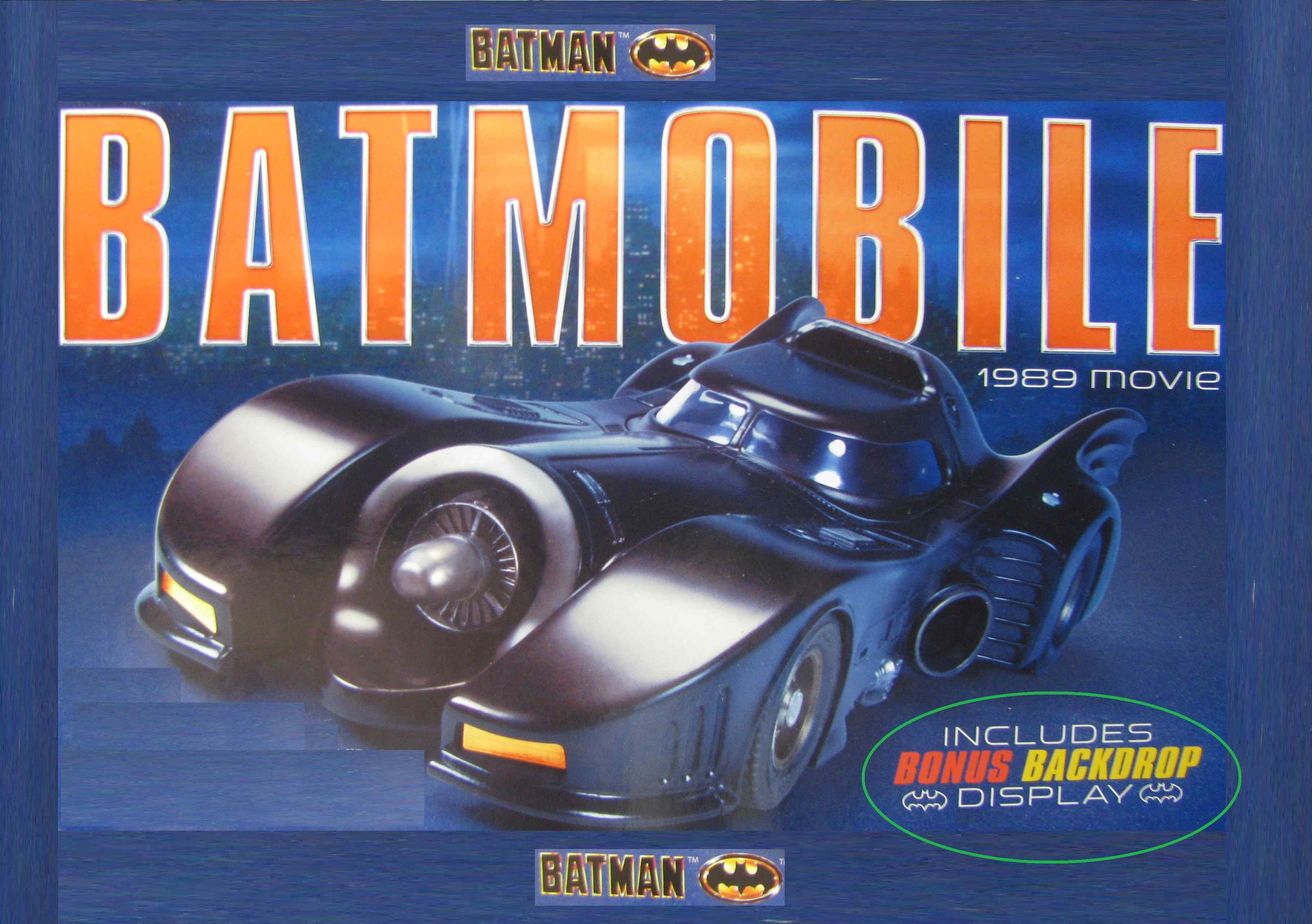 * SOLD * * SUMMER SALE * Batman Batmobile Slot Car Rare Limited Edition Movie Series 1:24 Scale *** INCLUDES HIGH QUALITY DISPLAY ***