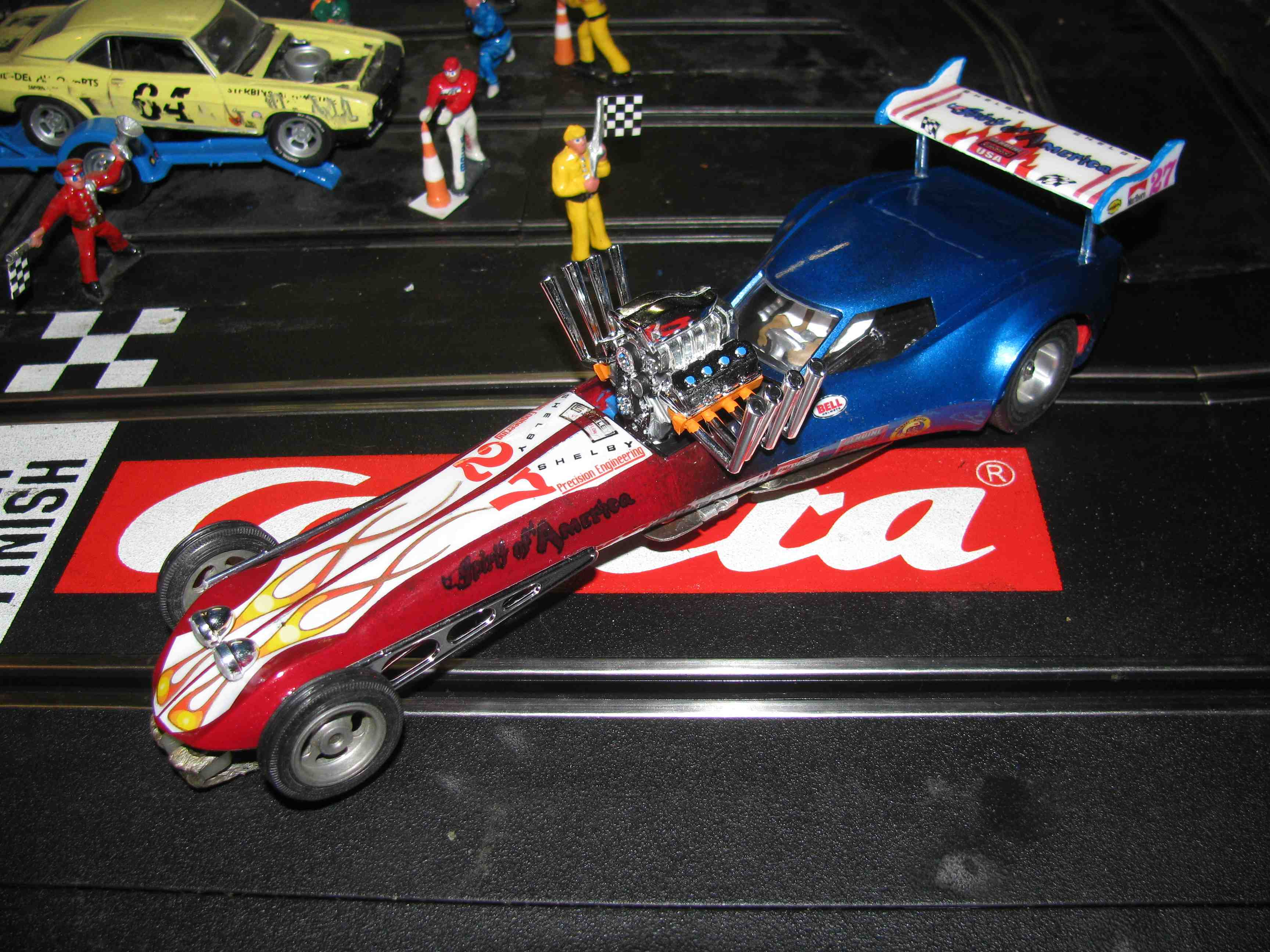 * SOLD * Monogram Ultimate Spirit of America Dragster Slot Car 1/24 Scale